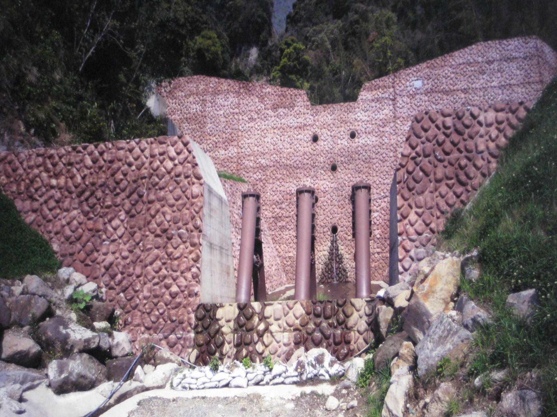 竜ヶ水砂防ダム