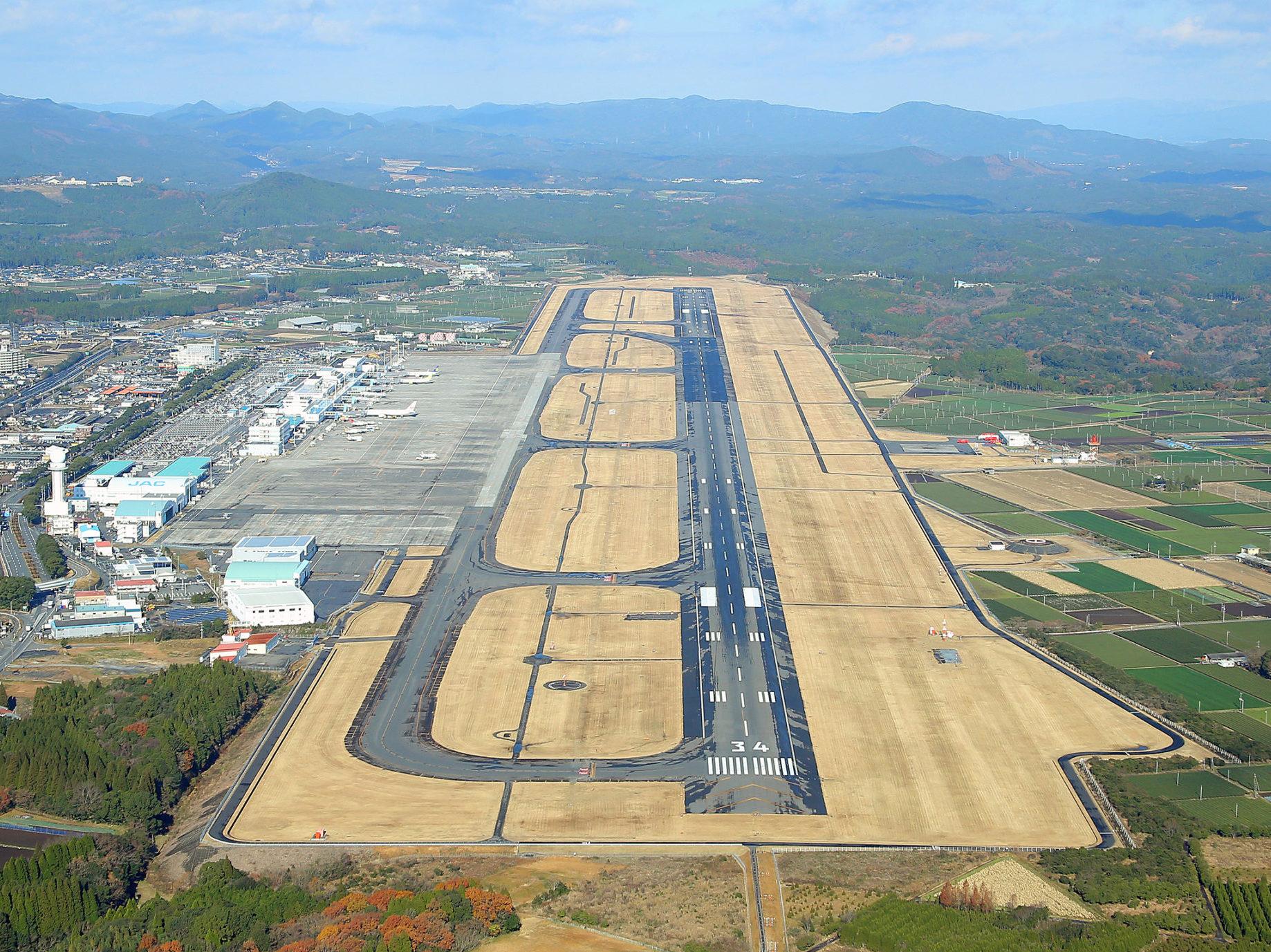 鹿児島空港場周道路改良工事
