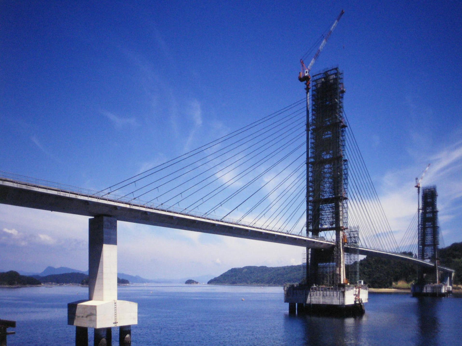 伊唐島地区架橋建設工事