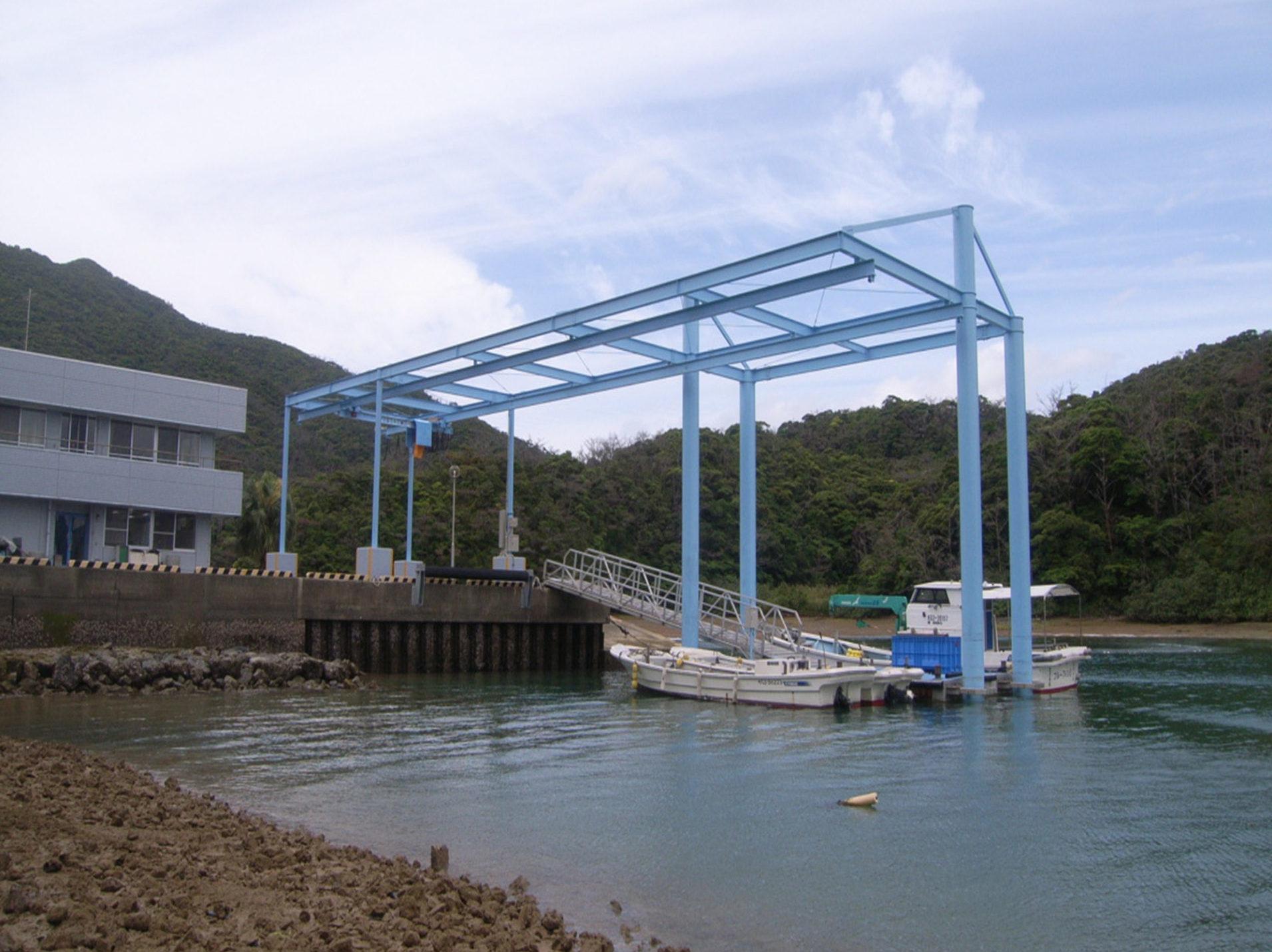 奄美栽培漁業センター 荷捌施設新築その他工事