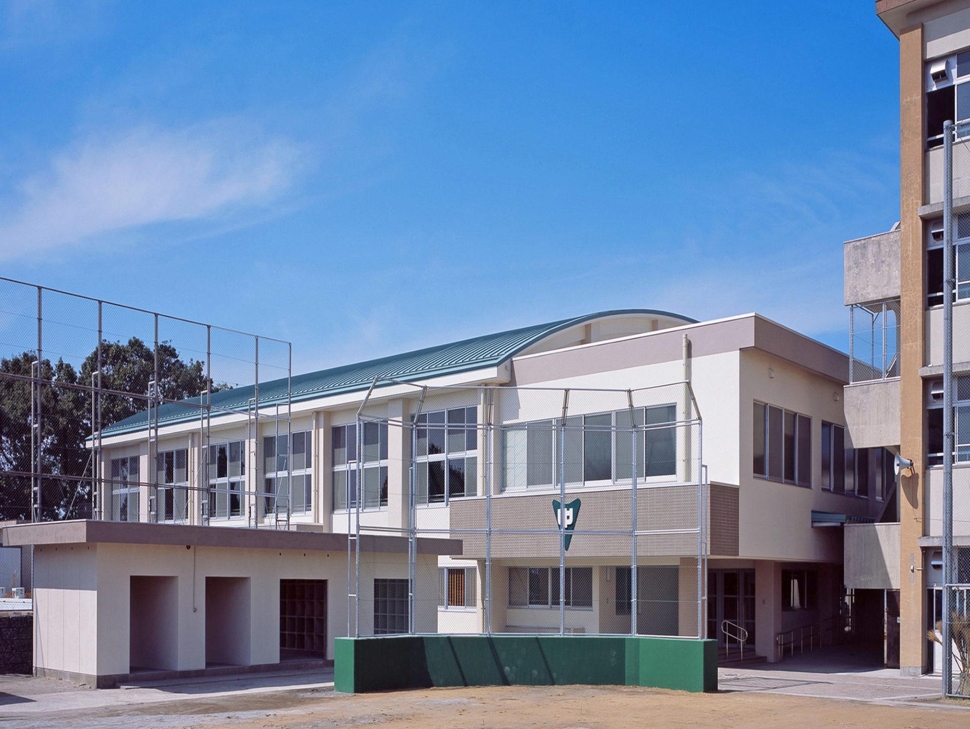 緑丘中学校屋内運動場  新築本体工事