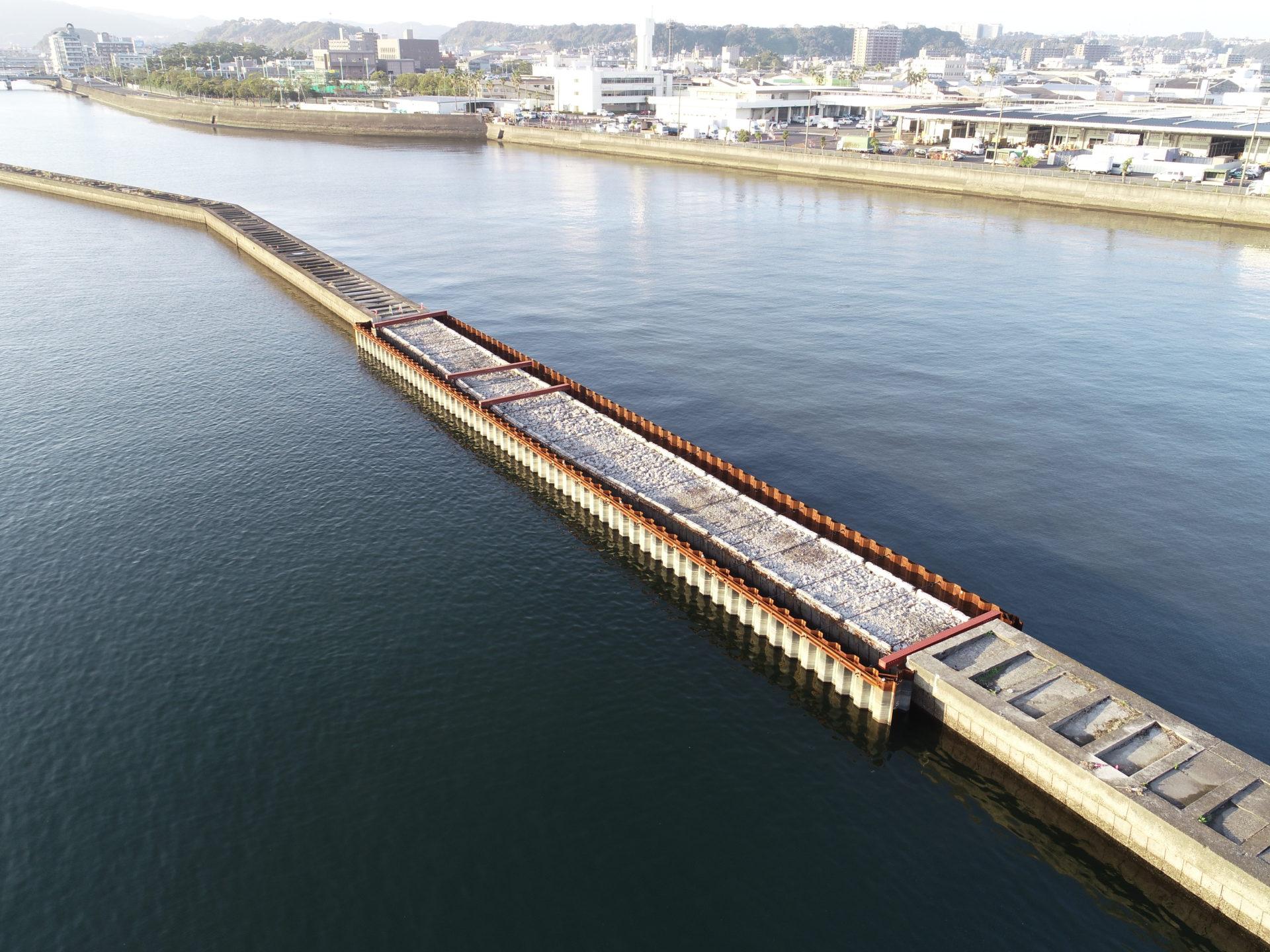 谷山漁港水産基盤機能保全工事(29-2工区)