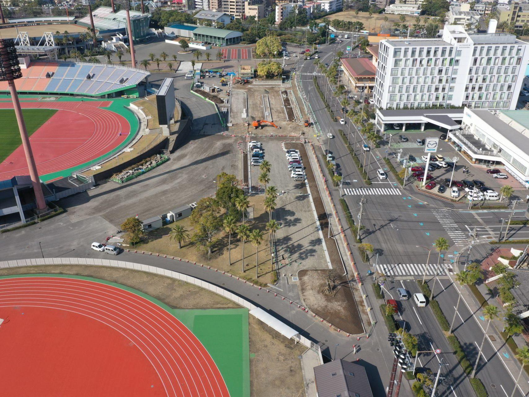 かごしま国体会場施設整備工事(園路30-26工区)
