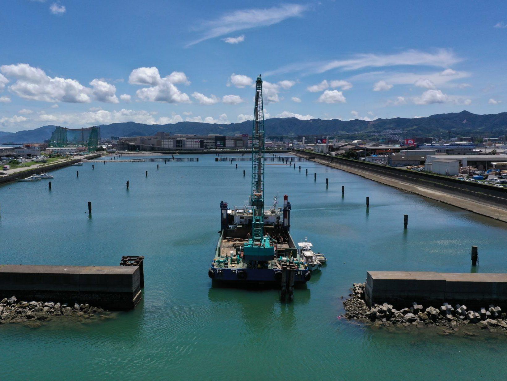 鹿児島港(旧木材港区)整備(起債)工事(臨海2工区)