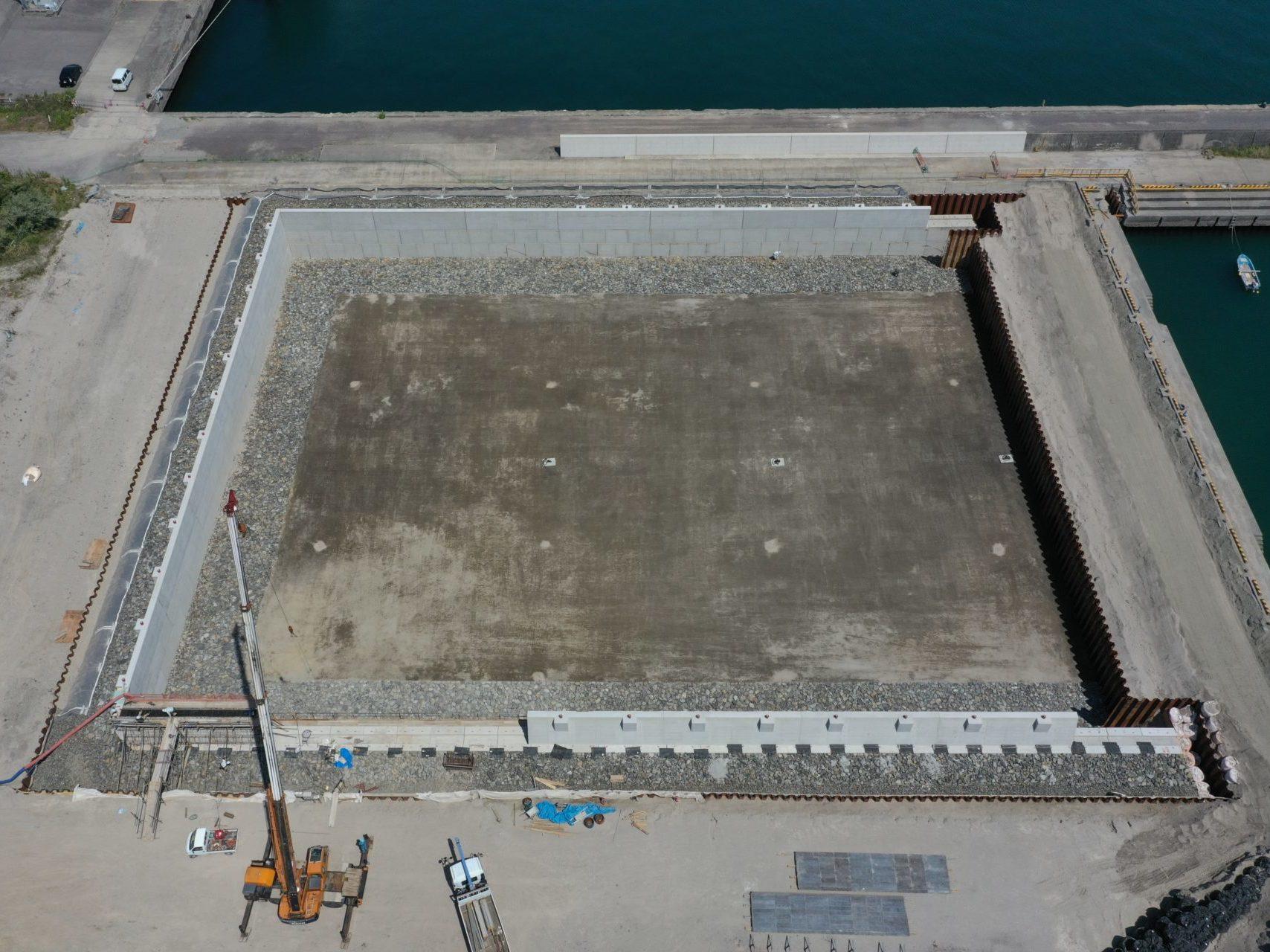 鹿児島港(谷山二区)改修工事(4工区)