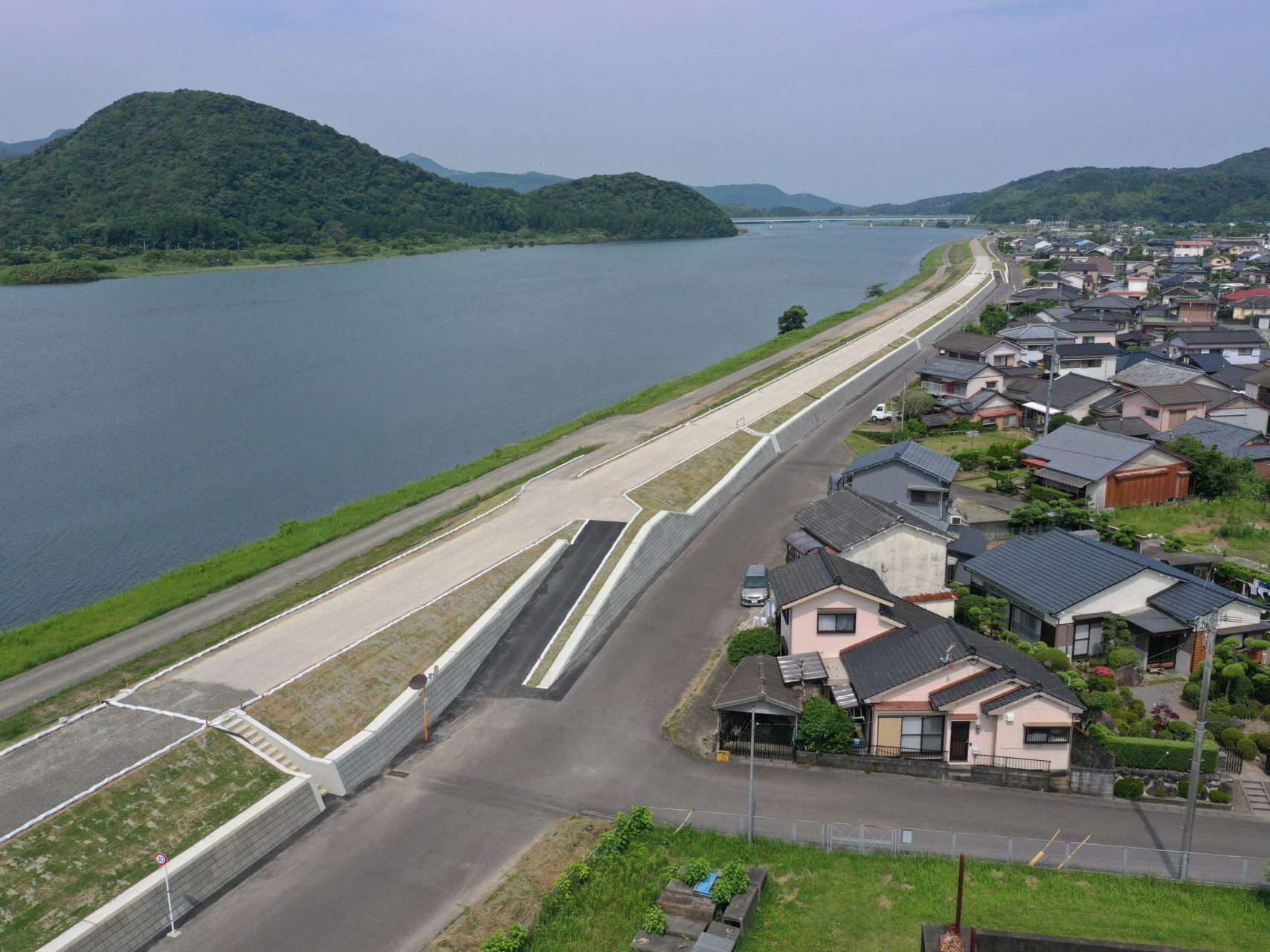 五代地区堤防強化その2工事